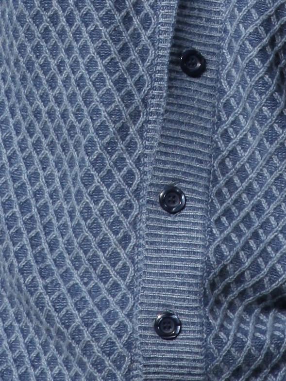 Cardigan 6 boutons avec capuche