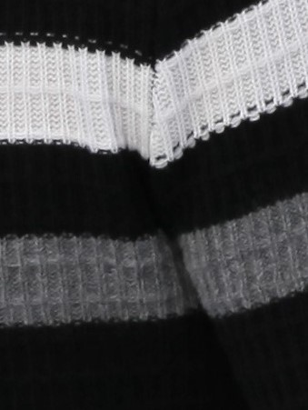 Pull Cachemire Dandy noir et blanc